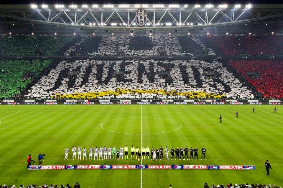 Altra coreografia allo Juventus Stadium