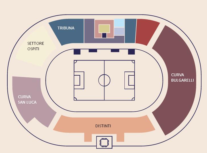 Mappa-Stadio-DallAra-Bologna