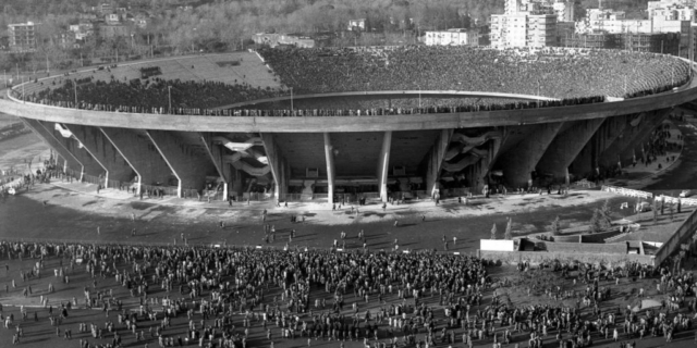 L'inaugurazione dello Stadio San Paolo di Napoli