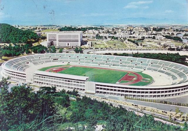 Lo Stadio Olimpico di Roma negli anni '50