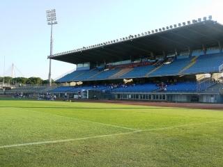 La Tribuna dello Stadio Castellani di Empoli
