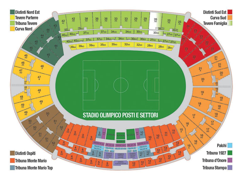 mappa-stadio-olimpico-di-roma