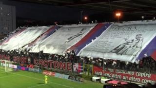 La coreografia esibita in occasione della promozione in Serie A