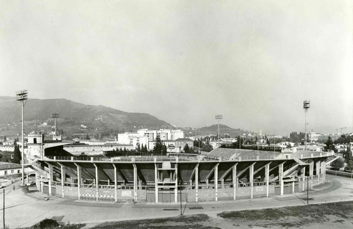Foto d'epoca stadio Bergamo (credits to Eco di Bergamo)